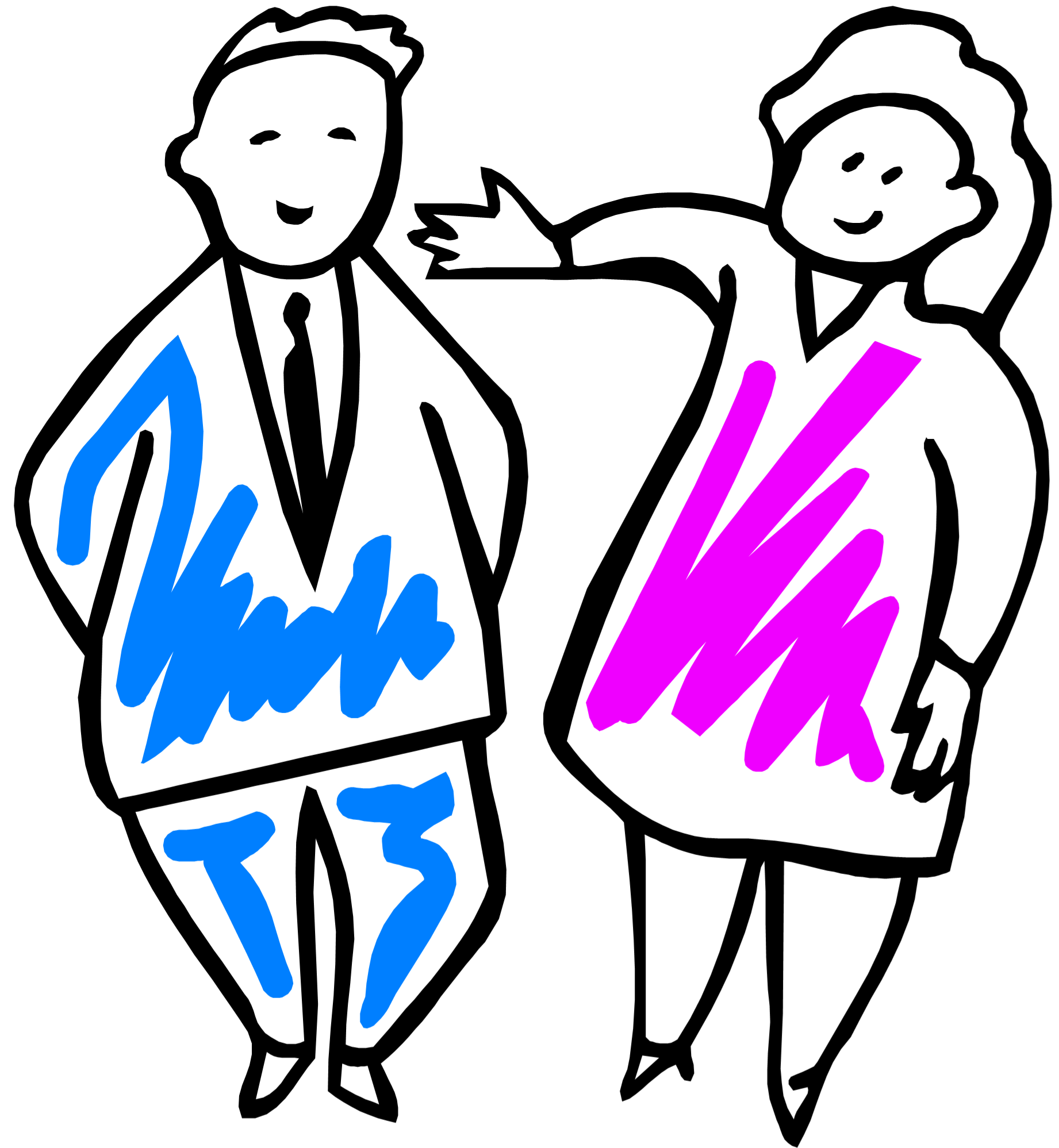 males and females The characteristics seen in males can also be seen in females, though females often have milder intellectual disability and a milder presentation of the syndrome's behavioral and physical features.